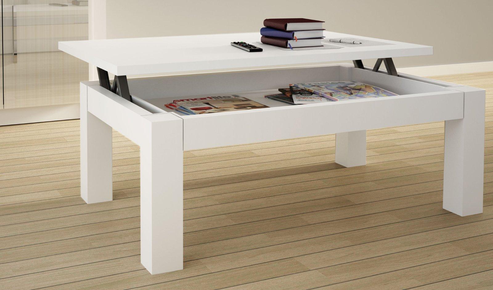 Spago muebles mesas y sillas - Mesa centro elevable y extensible ...